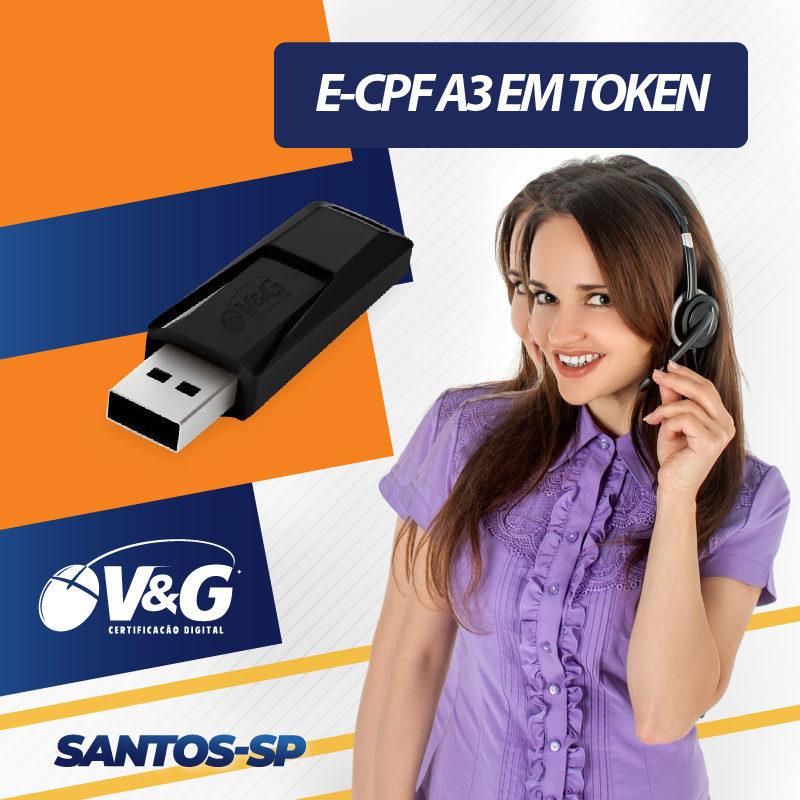 e-cpf a3 santos